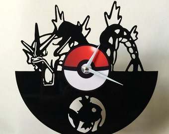 Pokemon Vinyl Record Wall clock