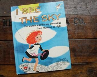 I See The Sky Wonder Book ~ 1960