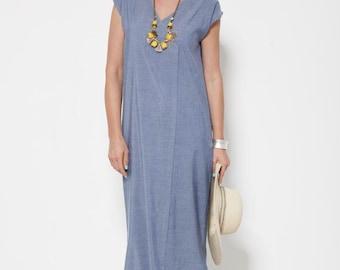 20% SALE, Long Cotton Dress