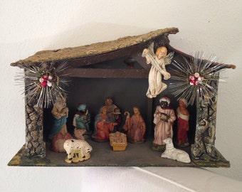 Nativity Scene - Manger