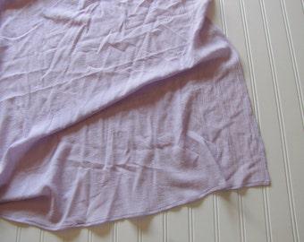 Lavender Gauze Swaddling Blanket - Muslin Receiving Blanket - Swaddling Blanket - Purple Baby Blanket - Made 4U Handmade Designs
