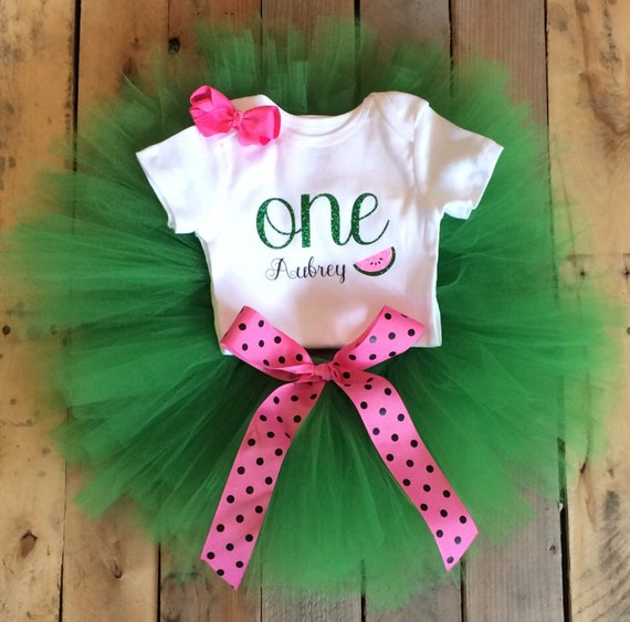 Baby Girl 1st Birthday Outfit Watermelon By