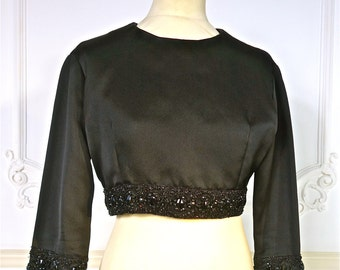 1950s Christian Dior London Beaded Jacket