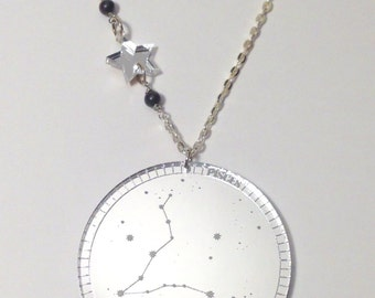Mirrored Constellation Necklace (Pisces)