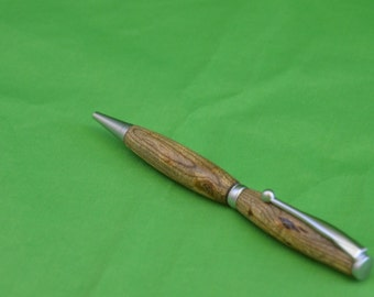 Pen, Wood Pen, Sagebrush Pen, Silver Pen, Wood Turned Pen