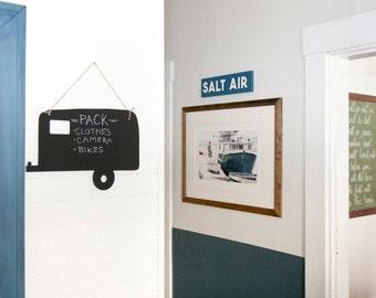 Vintage Camper Chalkboard, Home Decor, Christmas Gift, Wall Art, Home Wall Decor, Chalkboard, Kid's Room Idea, Craft Room Idea