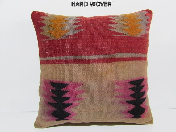 20x20 Kilim Pillow 20x20 Pillow Case Living By DECOLICKILIMPILLOWS