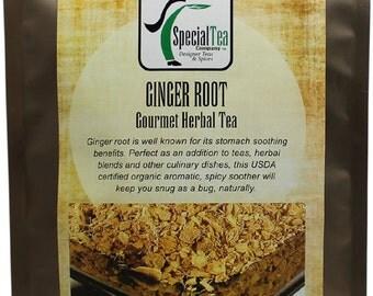 Ginger Root Organic Herbal Tea Gourmet x  20 Tea Bags