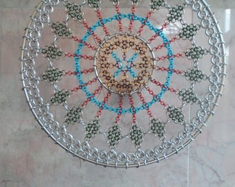Chainmail Dream Catcher