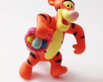 Vintage Tigger Easter PVC toy Cake Topper