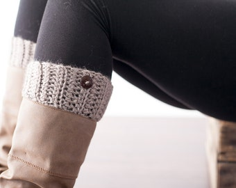 Crochet Pattern Boot Cuffs PDF: The Julianna Boot Cuffs