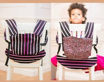 FREE SHIPPING/ by Bagy™ Reversible Doll Carrier Ariel/ soft structured/ by Bagy collection/ best gift for girls