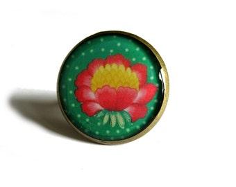Lotus Ring, Lotus Flower Ring, lotus flower, pink lotus, Yoga ring, Zen ring, Yoga jewelry, Yogi ring, flower jewelry, girlfriend gift