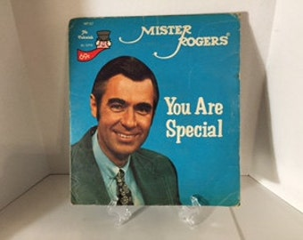 Mister Rogers Neighborhood You Are Special 45 RPM Record Single 1977