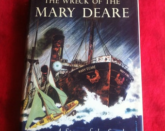 The Wreck Of The Mary Deare A Story Of The Sea By Hammond Innes Copyright 1956 Book Club Edition