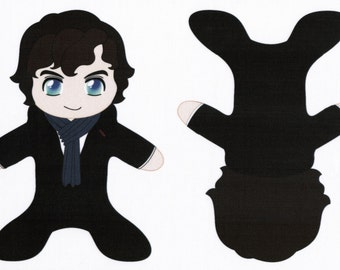 Sherlock Holmes Pocket Plush Fabric Sherlock