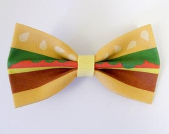 Burger Hair Bow