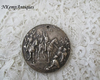 Antique medal Brazil signed for the collector