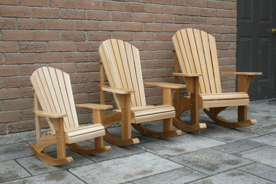 junior size adirondack rocking chair plans dwg files for cnc