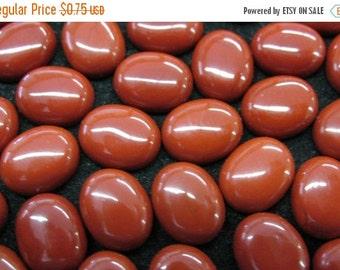 SALE 8 x 10 mm Red Jasper Cabochon - Item 53119