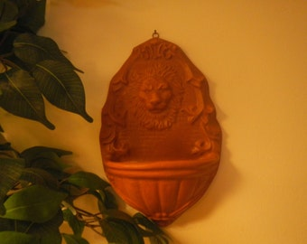Lion Face Bird Feeder/Sconce