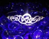 8th Century Celtic Knotwork Sterling Bracelet