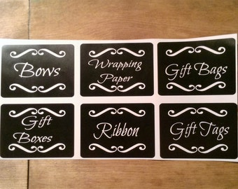 Custom Vinyl Labels *Set of 6*