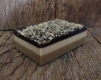 Chocolate Lovers Layered Sugar Soap Bar 4.8 oz.