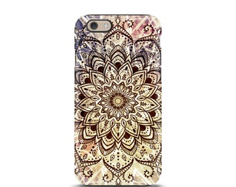 Mandala iPhone 7 case, iPhone 5 case, iPhone 6s, iPhone 5s case, iPhone 6 case, iPhone 6s case, iphone case, iphone 7, iphone 6s plus - Boho