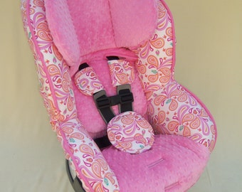 Ready to Ship Hand Crafted boutique Car seat cover Britax Boulevard 70, 70 G3, CS, Advocate 70 G3 or Pavilion 70
