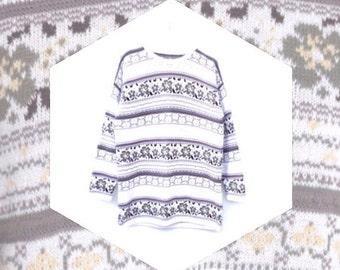 Wild Country Jumper Floral Earth Tones ADVENTURE KNITWEAR