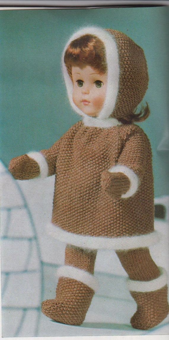 Patons Knitting Patterns For Dolls Clothes : Vintage Knitting pattern Dolls Clothes around the World ...