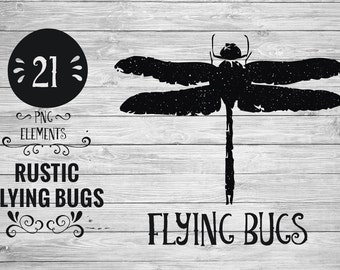 Rustic Flying Bugs
