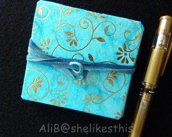 Art book concertina journal sketchbook notebook pocketbook original thank you gift