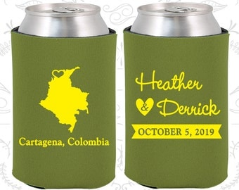 Colombia Wedding Ideas, Coolies, Destination Favors, Colombia Gifts, Colombia Wedding, Cartagena Gifts, Travel Gift (168)