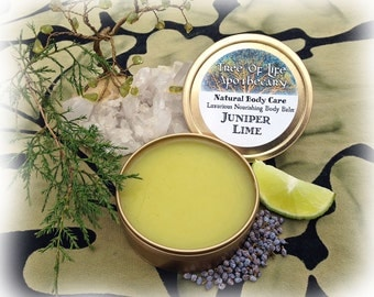 Juniper and Lime Luxurious Body Balm 4 oz.