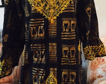 Vintage African tunic