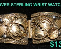 GOLD oVER STERLING WRIST wATCH bAND