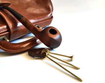 Tobacco pipe gift set, smoking pipe for him, smoking bowl, pipe, tobacco pipes.