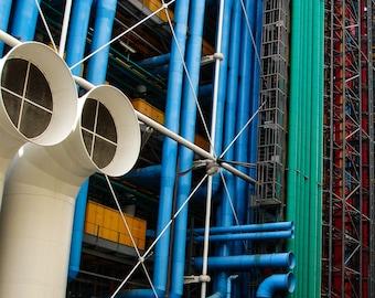 Centre Pompidou - Paris, France   Fine Art - Wall Art - Inquire about Size & Frame Options