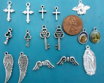 Mix of charms total of 16