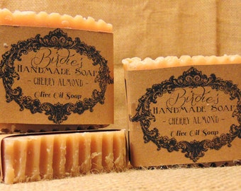 Handmade Olive Oil Soap Three Bars for Twenty Dollars