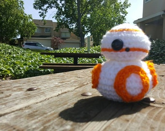 Star Wars Force Awakens BB-8 crochet plushie