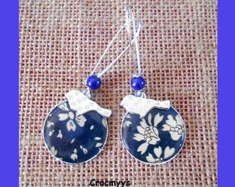 Liberty earring capel blue