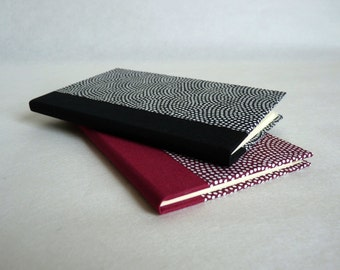 Telephone directory. Address book. Washi, Japanese pattern paper. 56 pages