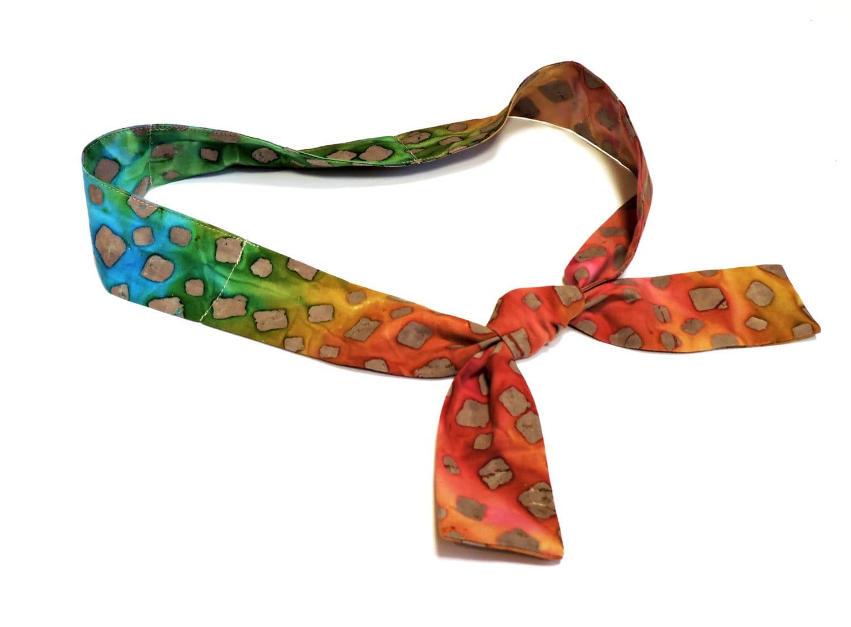 Cooling Neck Scarf : Gel neck cooler multi color batik cooling scarf stay cool