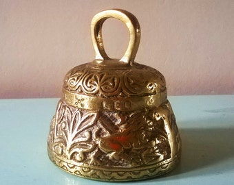 Heavy English Brass Sanctuary Bell