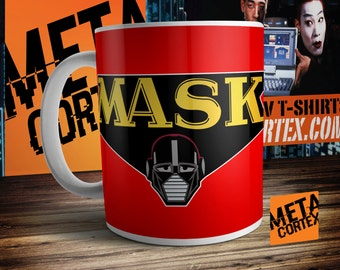 M.A.S.K. Matt Trakker Thunderhawk - Retro Eighties Cartoon Mug