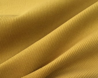 CE18-Ginger Cotton Pinwale Corduroy,21 WALES,Clothing Fabric for Children, Dress,Skirt,BJD clothes,Blythe clothes,1/2 Meter