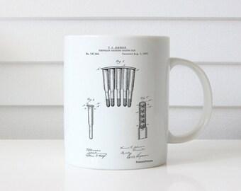 Temporary Cartridge Holding Clip 1897 Patent Mug, Gun Enthusiast, Firearm, Ammo, Gun Mug, Military Gift, PP1089